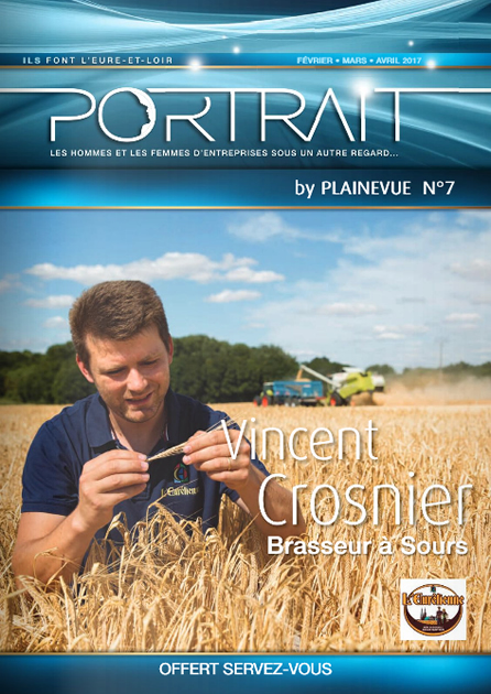 Portrait N° 7 Vincent Crosnier